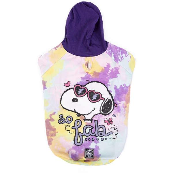 Moletom Snoopy  So Fab Tye Die -  Zooz