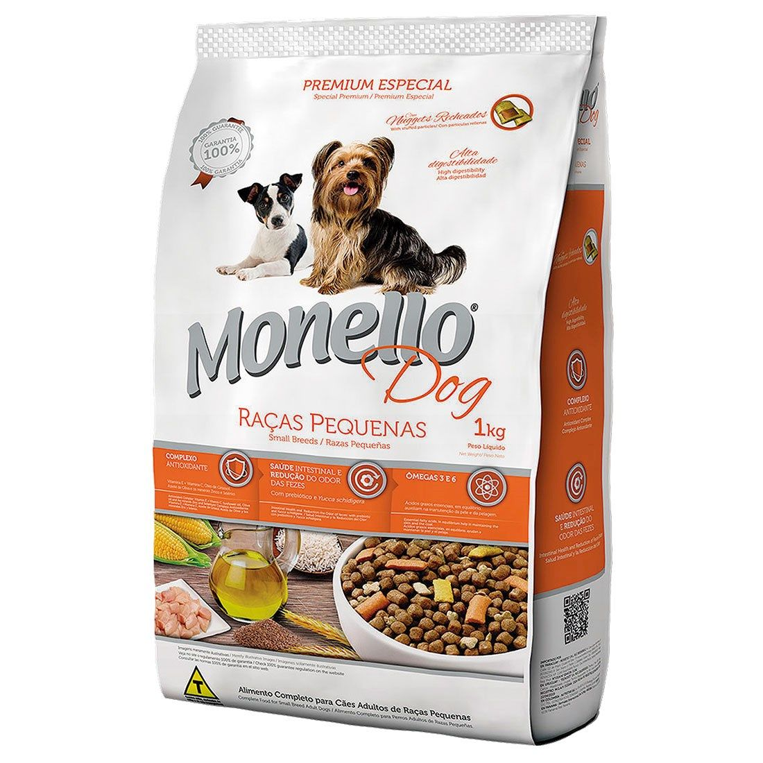 Monello Dog Raças Pequenas Adulto