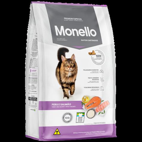 Monello Gatos Castrados Peru e Salmão