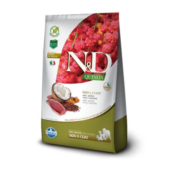 N&D Quinoa Cães Adultos Skin Pato