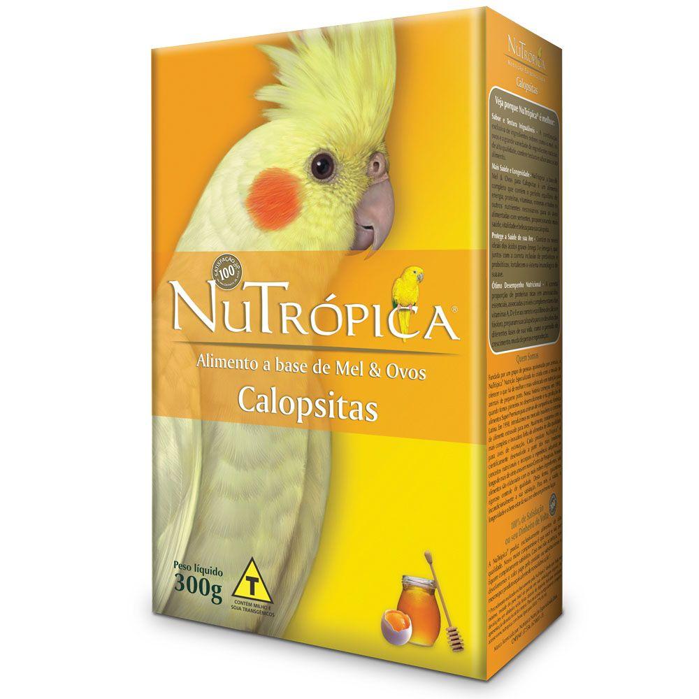 Nutrópica Calopsita Farinhada Mel & Ovos