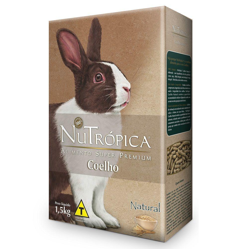 Nutrópica Coelho Adulto Natural