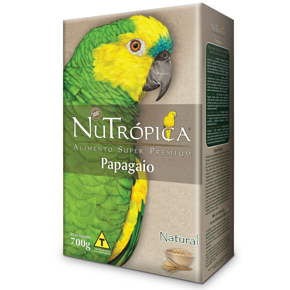 NuTrópica Papagaio  Natural