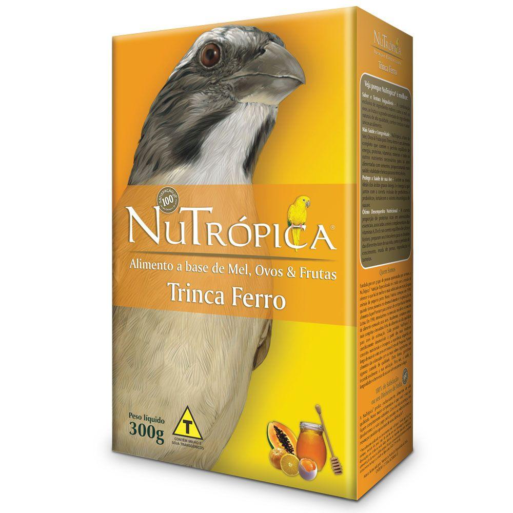 Nutrópica Trinca Ferro Natural Farinhada Mel e Ovos