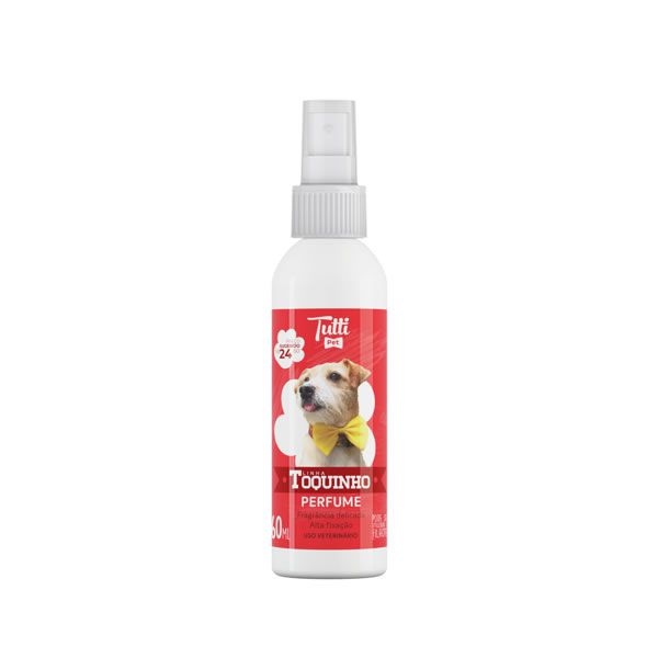 Perfume Toquinho Tutti Pet 60ml