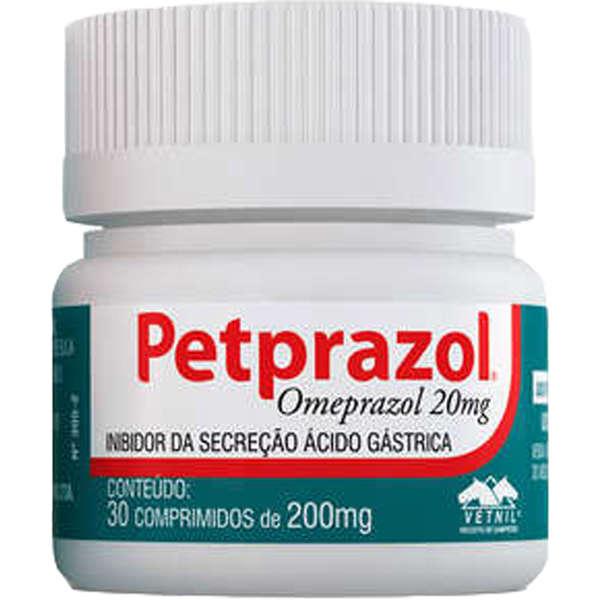 Petprazol 20mg (30 comprimidos)