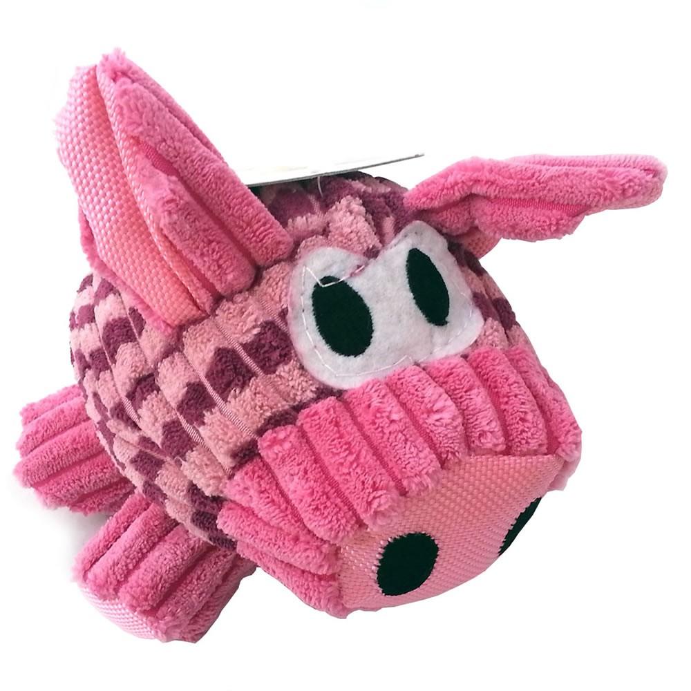 Brinquedo Porquinho em Pelúcia com Apito - Chalesco
