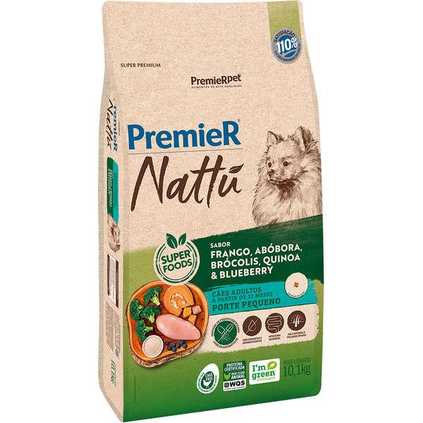 Premier Nattú Abóbora Cães Adultos  Pequeno Porte - 10 Kg