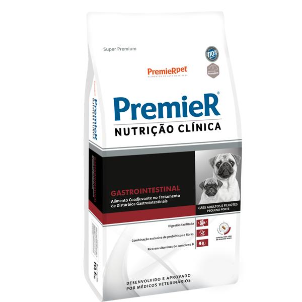 Premier Nutrição Clínica Canine Gastro Intestinal Pequeno Porte