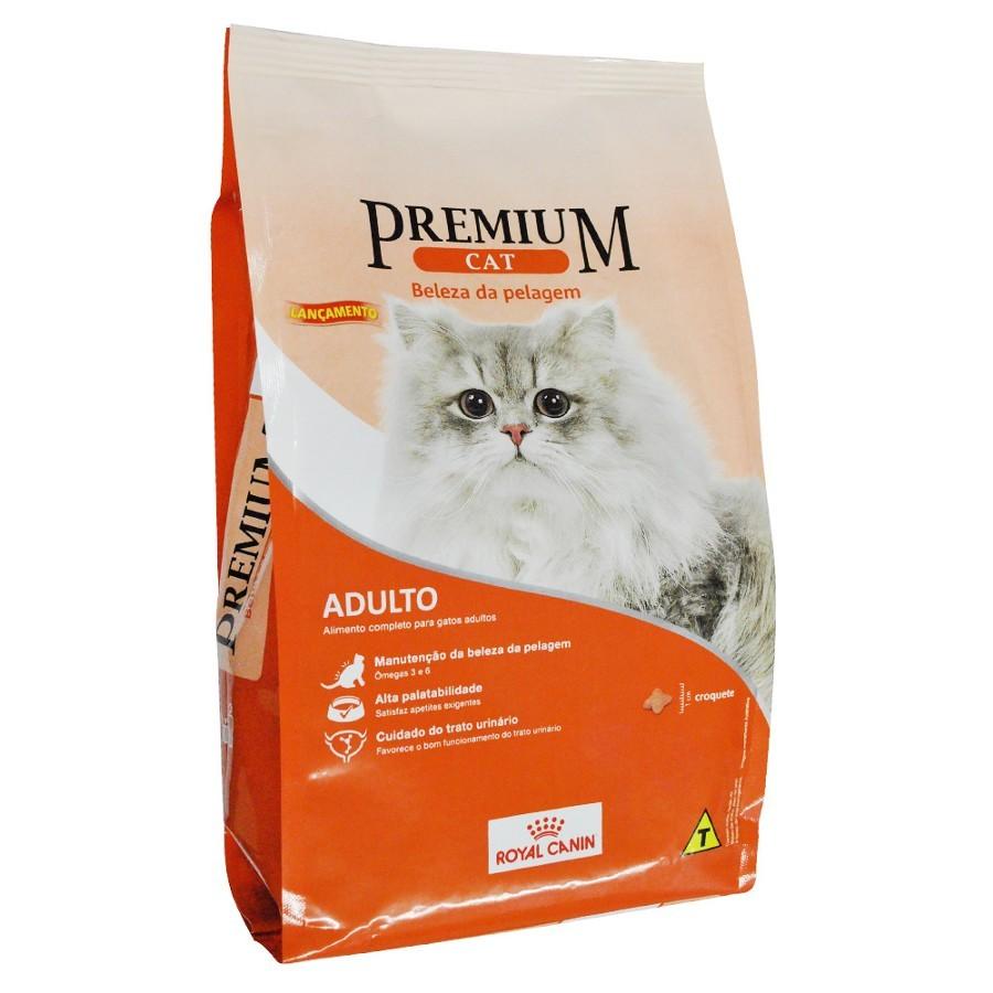 Premium Cat Adultos Beleza da Pelagem