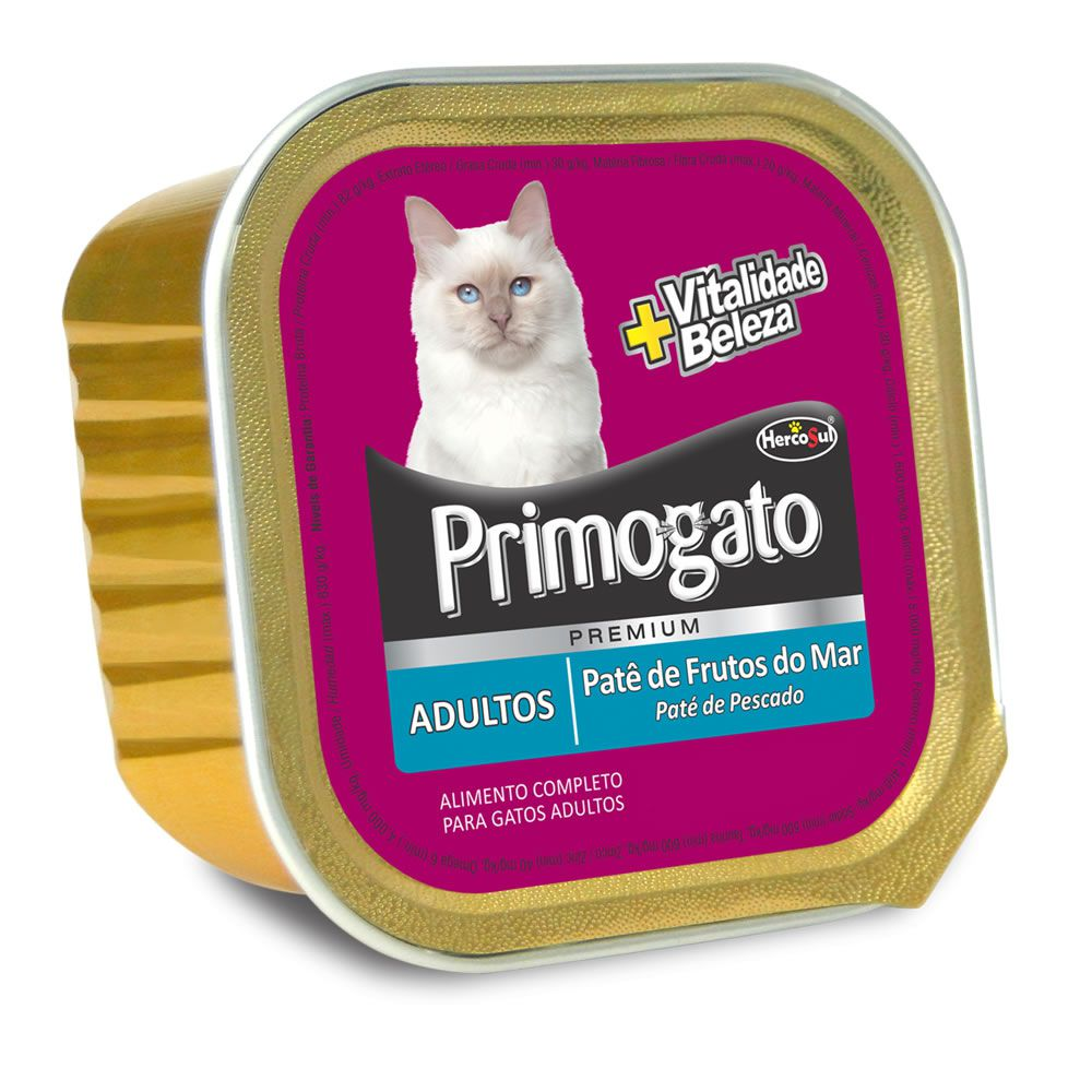 Primogato Patê Adultos Frutos do Mar