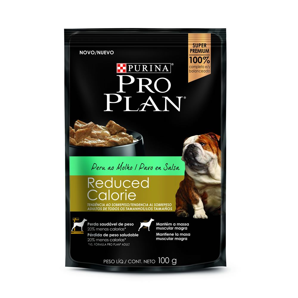 Pro Plan Sache Cães Reduced Calorie Peru