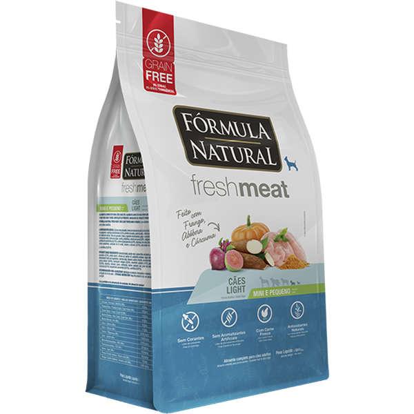 Ração Fórmula Natural Fresh Meat Cães Light Raças Mini e Pequena