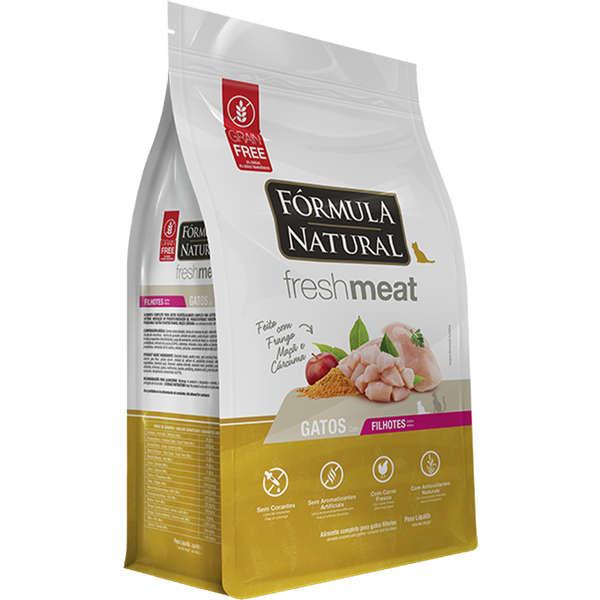 Ração Fórmula Natural Fresh Meat Frango Gatos Filhotes
