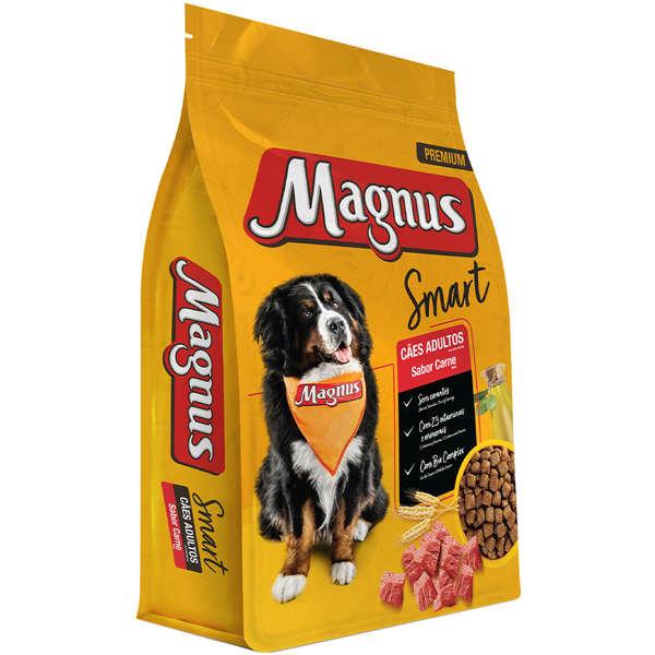 Ração Magnus Smart Carne para Cães Adultos