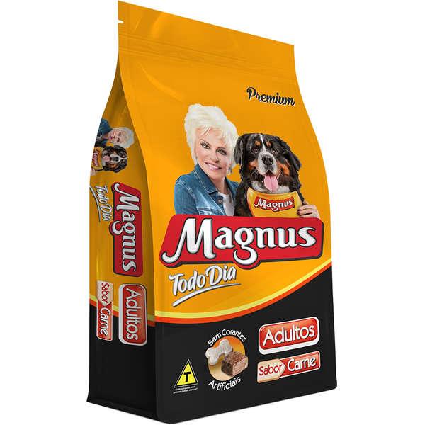 Ração Magnus Todo Dia Sabor Carne  Cães Adultos 25kg