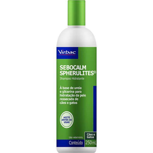 Sebocalm Spherulites Shampoo  250ml - Virbac