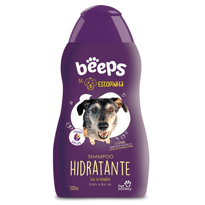 Shampoo Beeps Hidratente Ameixa