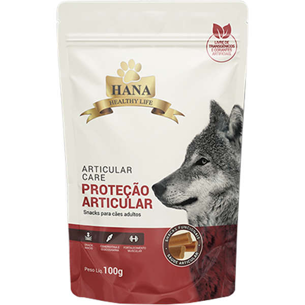 Snacks Hana Healthy Life Articular Care para Cães Adultos 100g