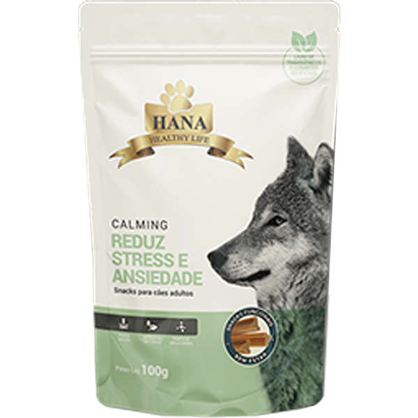 Snacks Hana Healthy Life Calming para Cães Adultos 100g