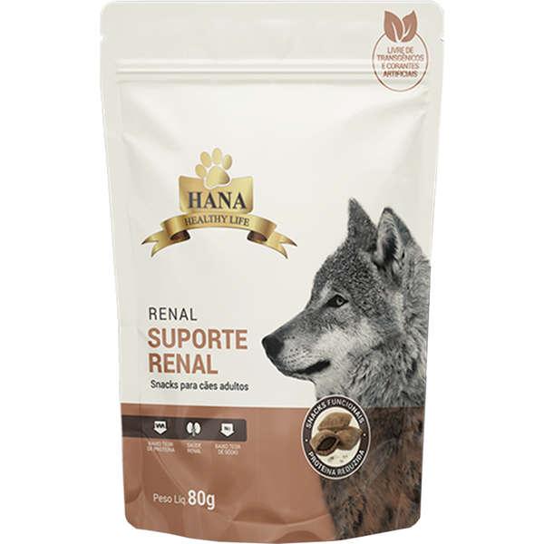 Snacks Hana Healthy Life Renal para Cães Adultos 80g