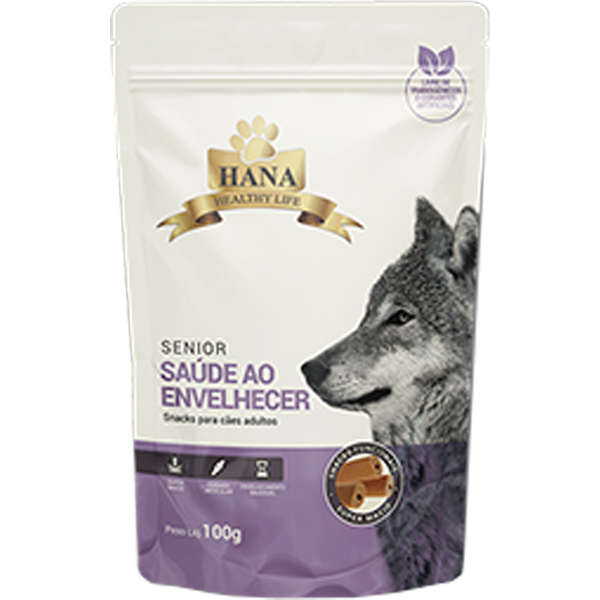 Snacks Hana Healthy Life Senior para Cães 100g