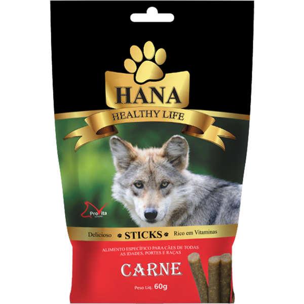 Sticks Hana Healthy Life Carne para Cães 60g