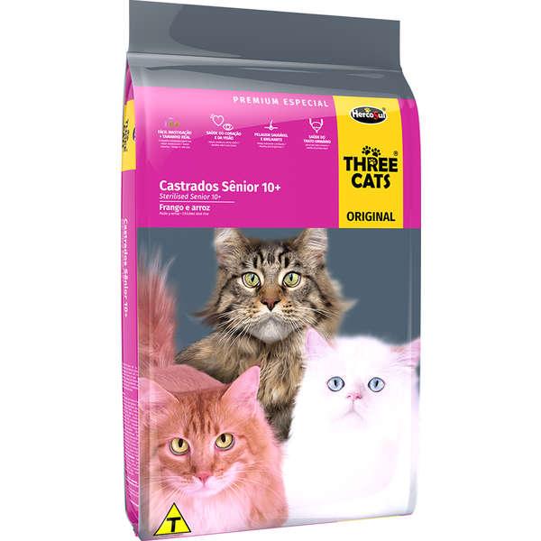 Three Cats Original Sênior 10 kg