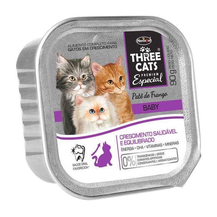 Three Cats Patê Baby Frango