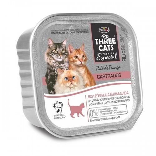 Three Cats Patê Castrado Frango