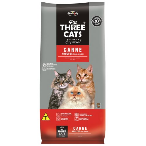 Three Cats Adulto Carne