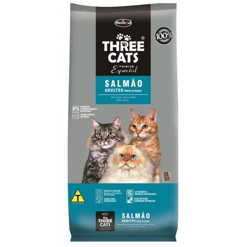 Three Cats Adultos Salmão