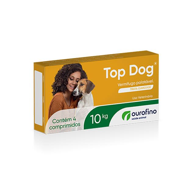 Top Dog 10 kg (4 comprimidos)