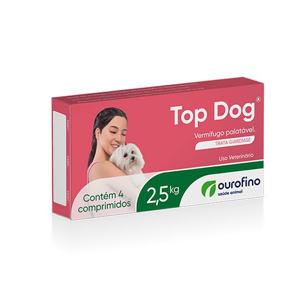 Top Dog 2,5 kg (4 comprimidos)