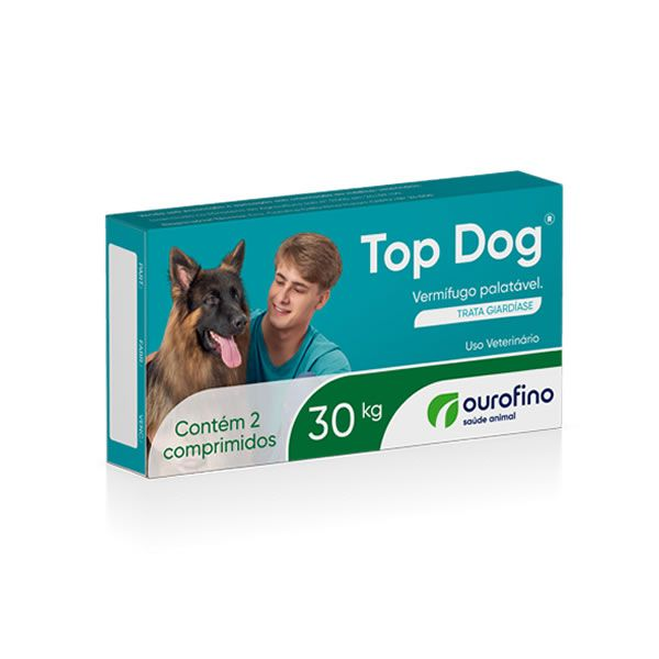 Top Dog 30 kg (2 comprimidos)