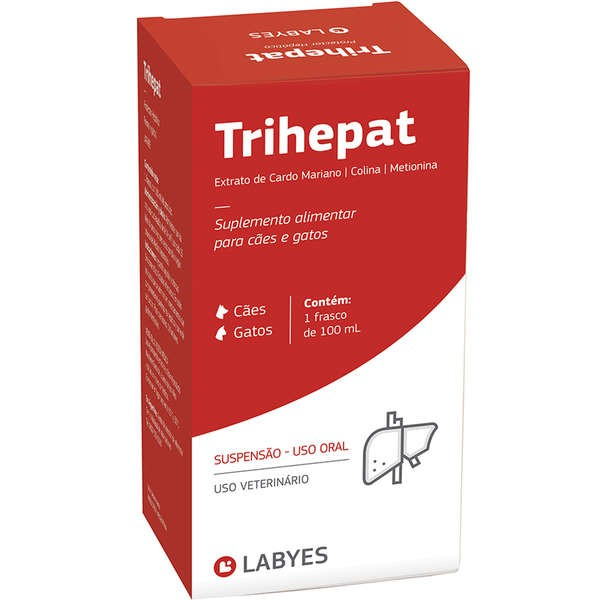Trihepat Cães e Gatos 100ml