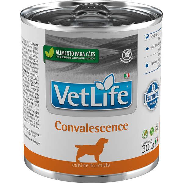 Vet Life Canine Ração Úmida Convalescence Cães 300g - Farmina