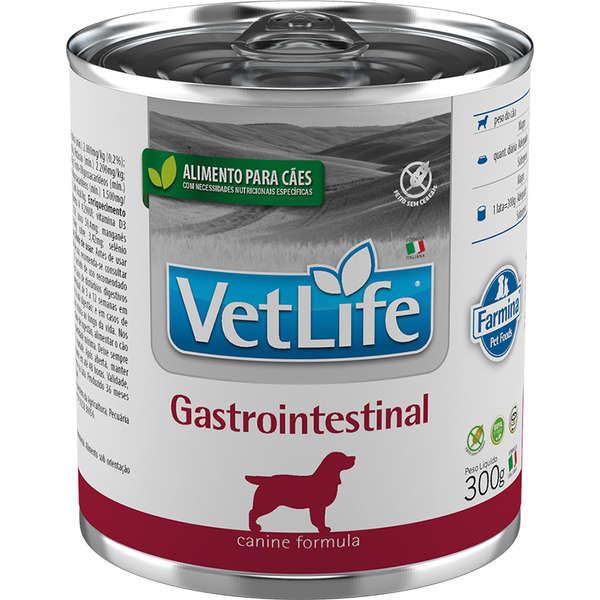 Vet Life Canine Ração Úmida Gastrointestinal Cães 300g - Farmina