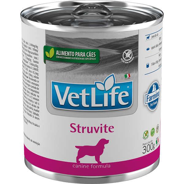 Vet Life Canine  Ração Úmida Struvite Cães 300g - Farmina