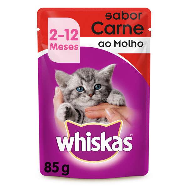 Whiskas Sachê Filhote Carne
