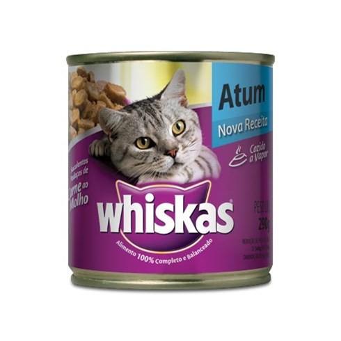 Whiskas Lata Atum ao Molho