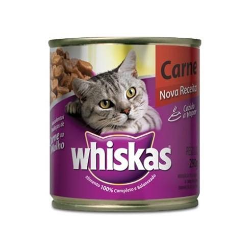 Whiskas Lata Carne ao Molho