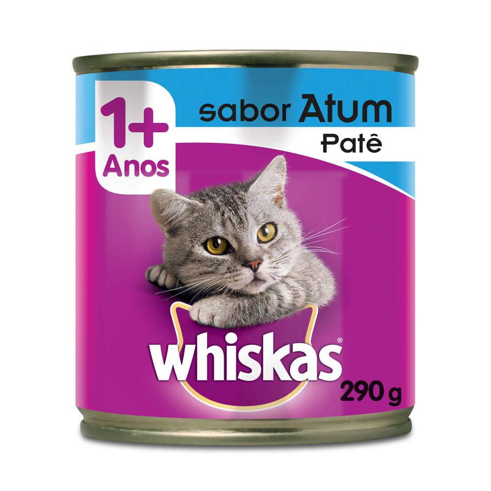 Whiskas Lata Patê de Atum