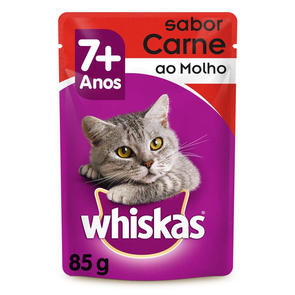 Whiskas Sachê Carne 7+