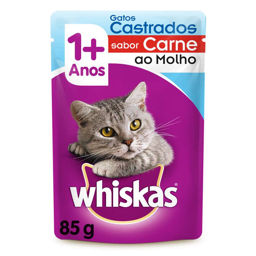 Whiskas Sachê Castrados Carne