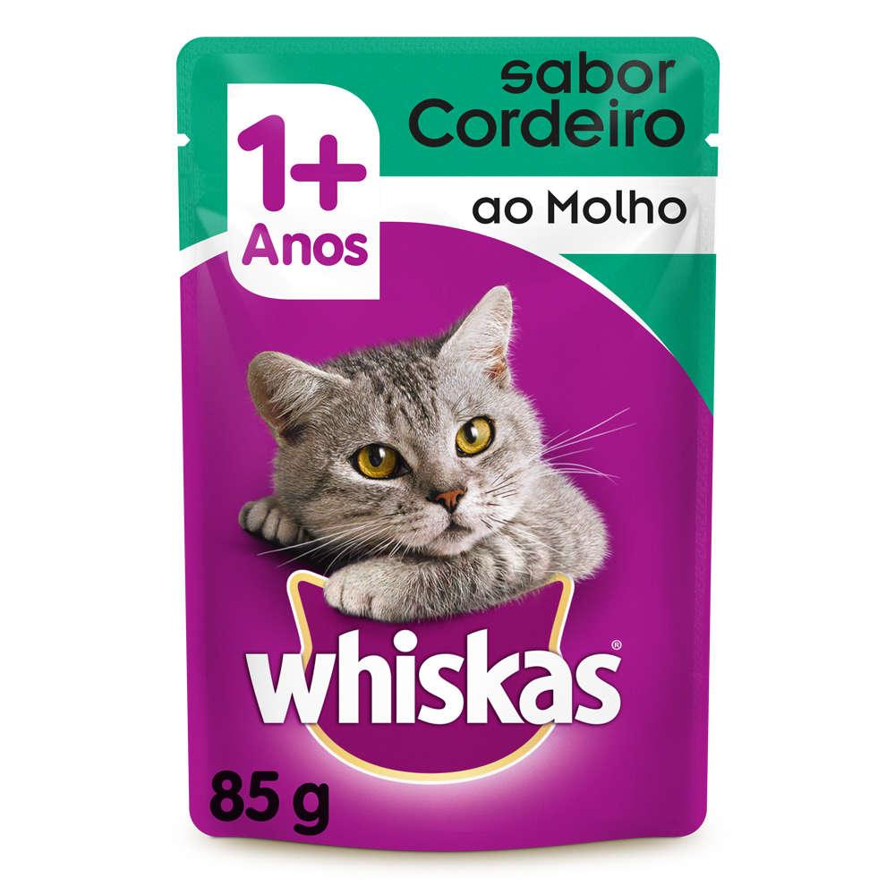 Whiskas Sachê Cordeiro