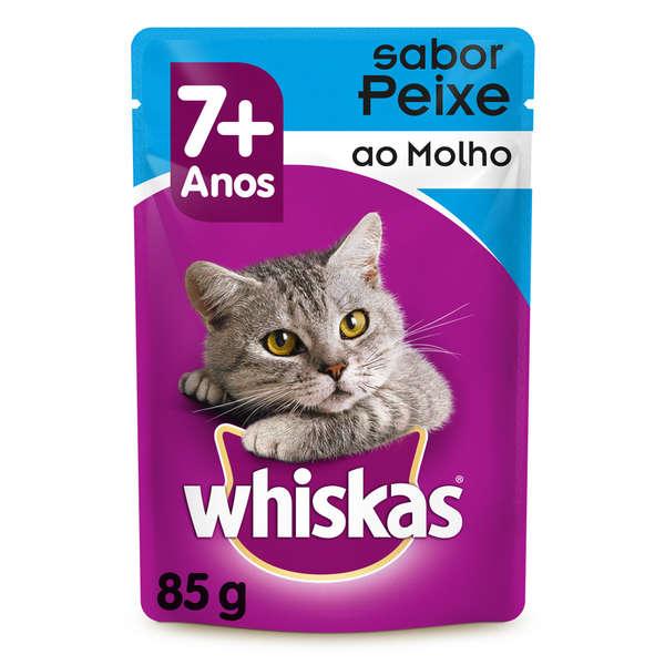Whiskas Sachê Peixe 7+