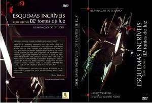 DVD ILUMINAÇÃO DE ESTÚDIO/ESQUEMAS INCRÍVEIS COM 02 FONTES DE LUZ