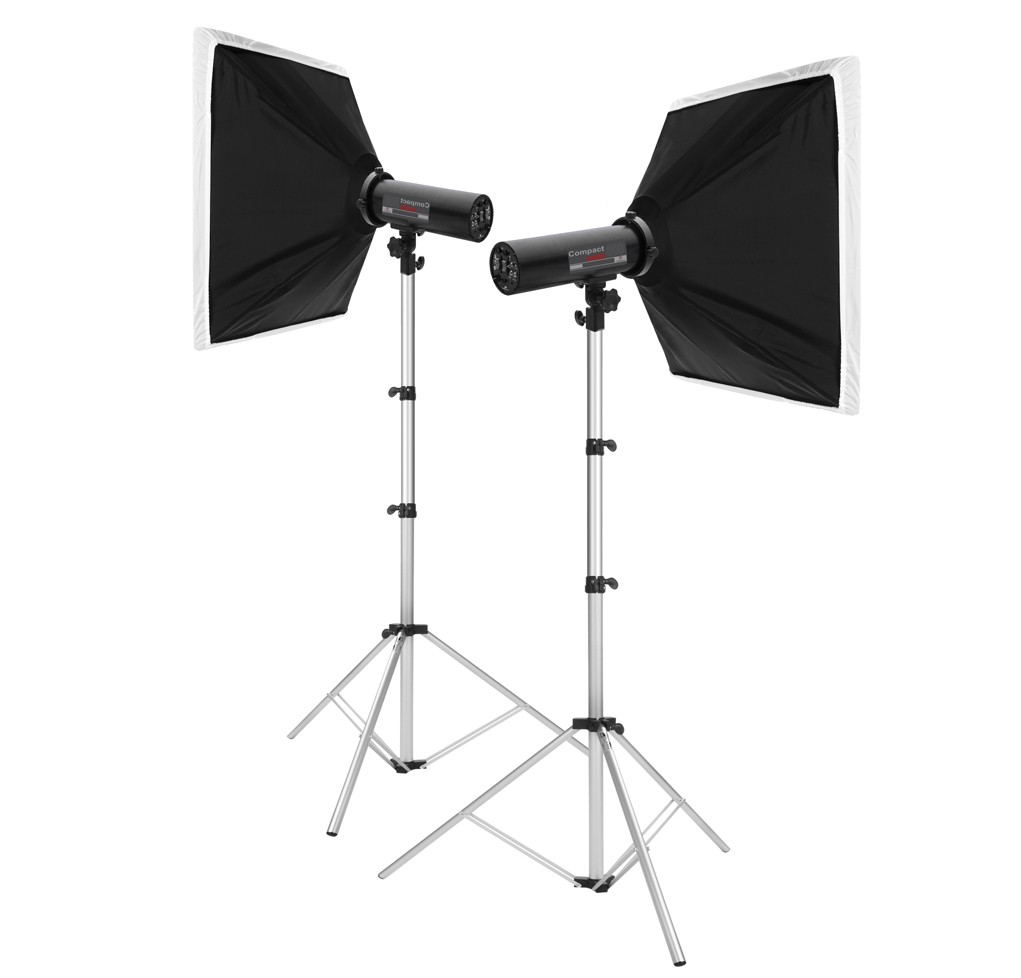 KIT HARD 800 SOFTBOX 75X75CM CADETE II