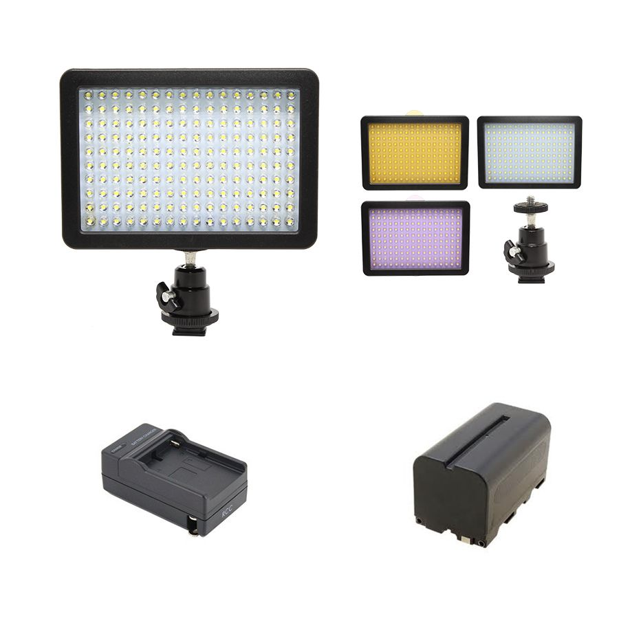 KIT ILUMINADOR 160 LEDS LD-160